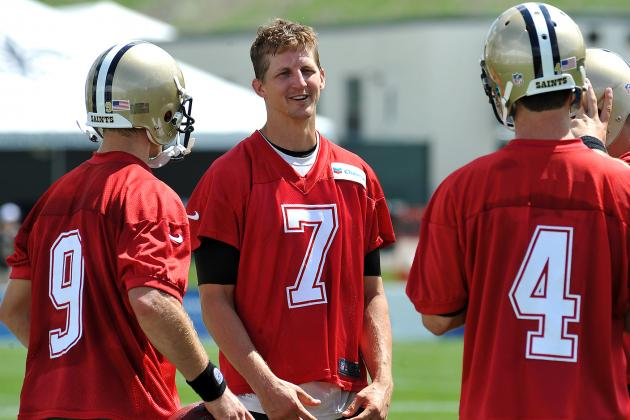 How Should the New Orleans Saints Handle Their Backup QB Spot?