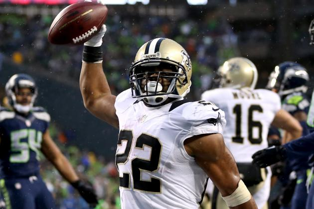 Pressure on Mark Ingram Builds as Saints Emphasize Run Game
