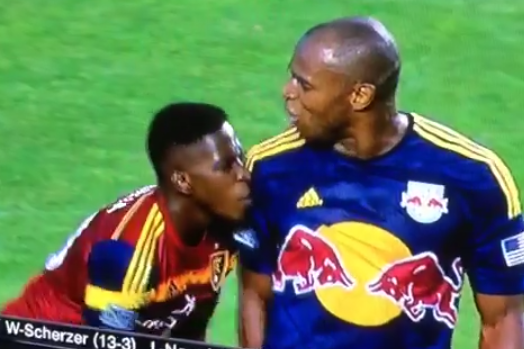 MLS Crotch-Grabbing Incident Ends in Theatrics and a Yellow Card