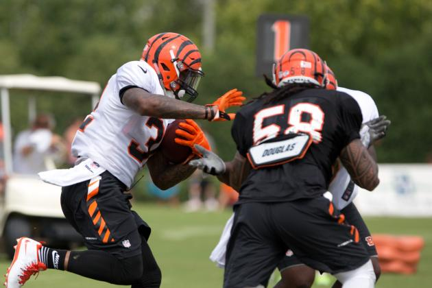 Scuffles Break out in Bengals Training Camp