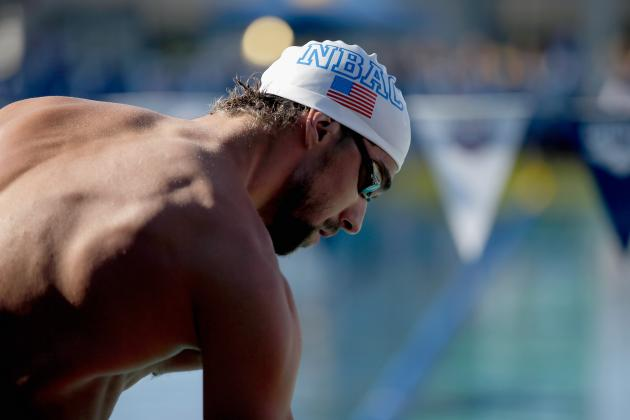 Phelps to Swim Four Races at 2014 U.S. Swimming National Championships