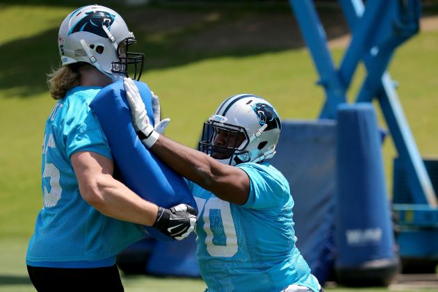 Carolina Panthers Rookie Guard Trai Turner Acts, Plays Like a Veteran