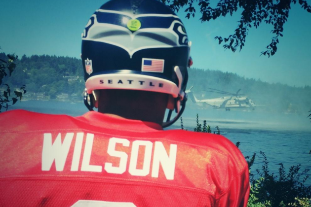 The Seahawks' Training Camp Has Been Invaded