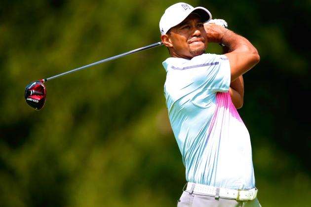 Tiger Woods at WGC Bridgestone 2014 Tracker: Live Day 1 Score and Highlights