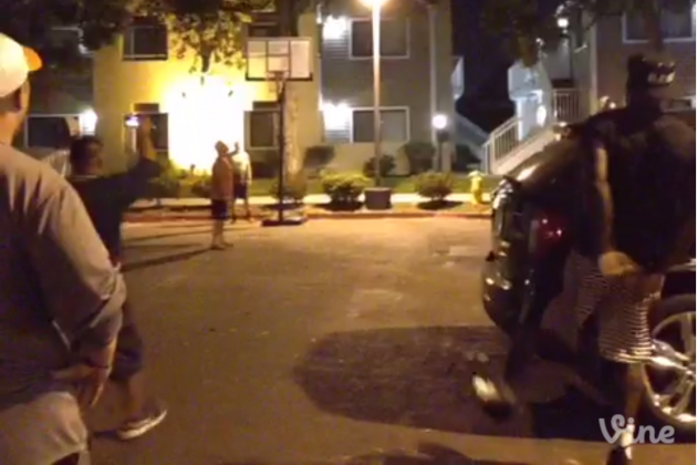 Dez Bryant Sinks an Incredible Basketball Shot