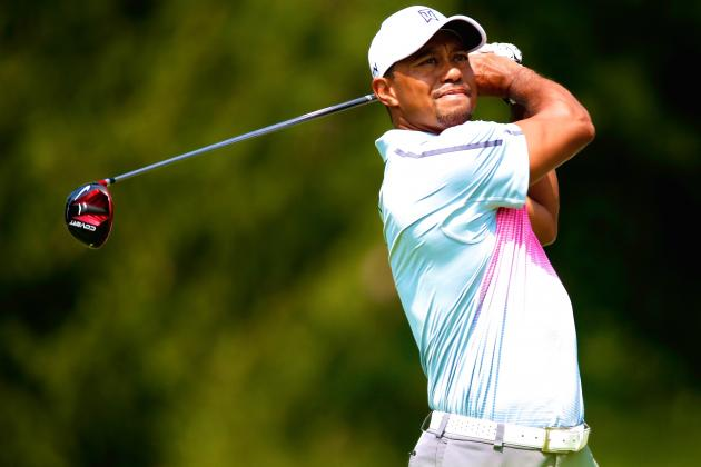 Tiger Woods at Bridgestone Invitational 2014: Daily Scores, Leaderboard Updates