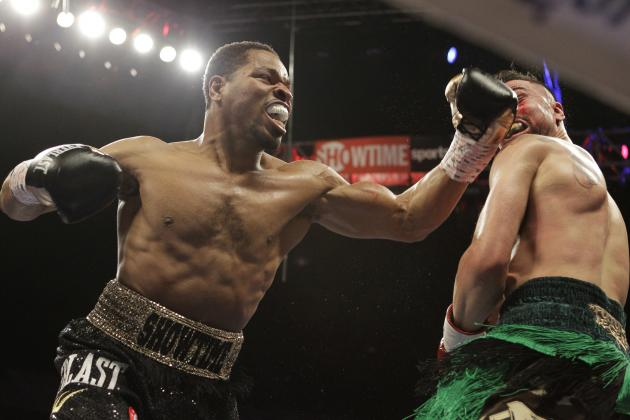 Shawn Porter's MO to Climbing Boxing's Ladder