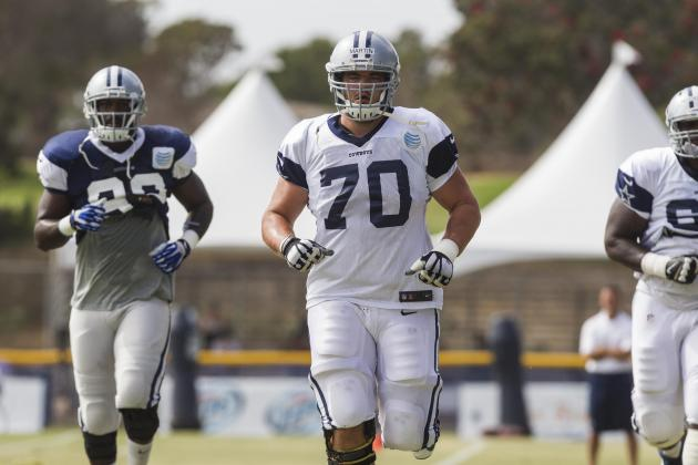 Dallas Cowboys: Training Camp Progress Reports for 2014 Draft Class