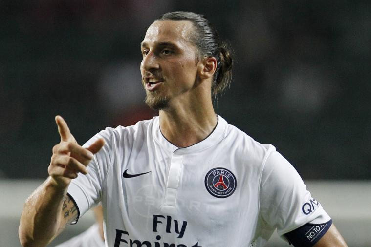 Zlatan Ibrahimovic Fixes Everything When Two Opponents Want His Shirt