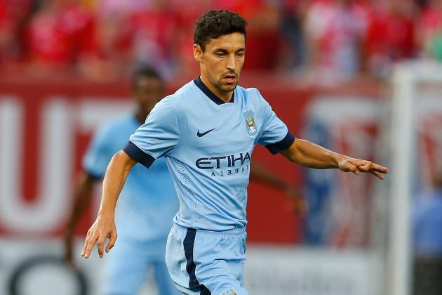 Manchester City vs. Olympiacos: Predicting City's International Champions Cup XI