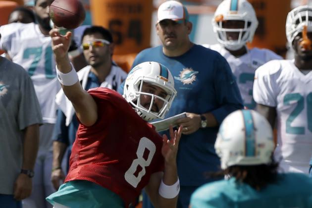 Dolphins QB Matt Moore Injures Shoulder