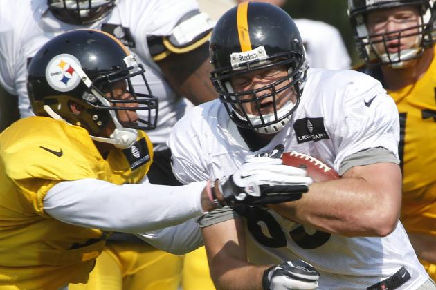 Steelers' Shoulder Pads Get Technological Boost for Ravens Game