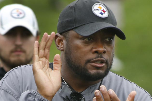 Tomlin: 'I like the energy and enthusiasm'