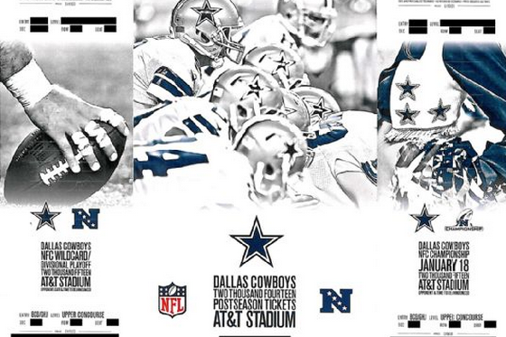 Dallas Cowboys Include Postseason Tickets in Season-Ticket Packets
