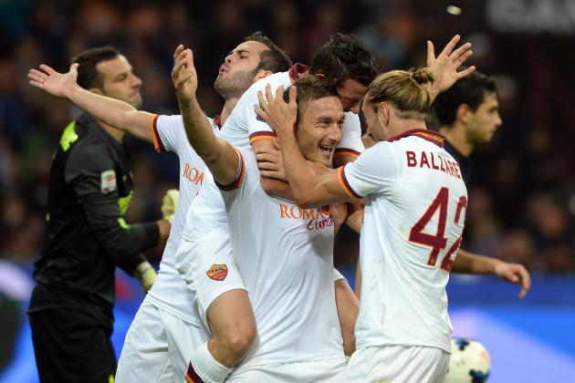 Roma vs. Inter Milan: Date, Time, Live Stream, TV Info and 2014 ICC Preview