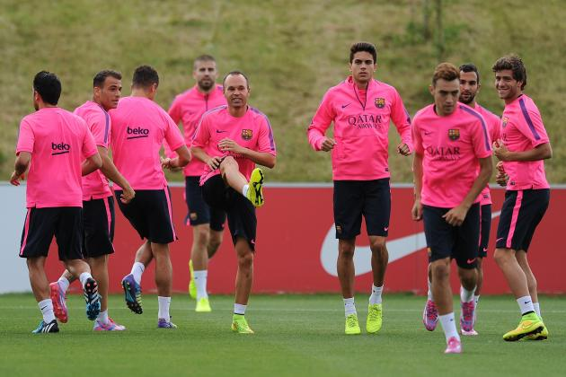Helsinki vs. Barcelona: How Barca Will Line Up in Finland