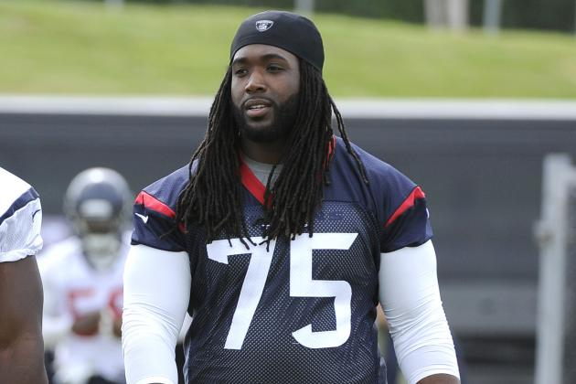 OL Coach Likes Derek Newton's Progress