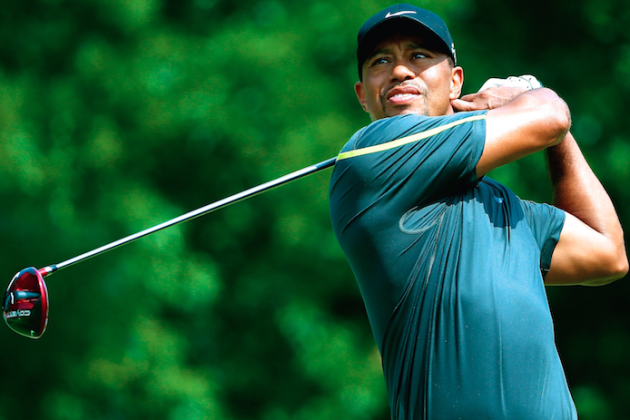 Tiger Woods at WGC Bridgestone 2014 Tracker: Live Day 2 Score and Highlights