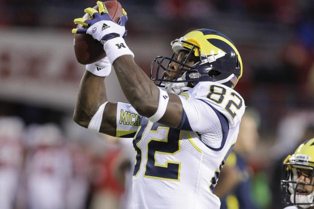 Michigan Confident WR Amara Darboh Can Return to Where He Was a Year Ago