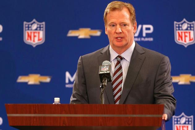 Roger Goodell Comments on Ray Rice's Suspension