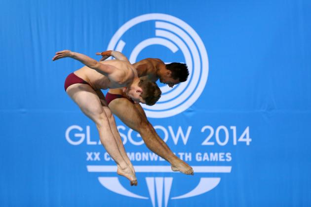 Tom Daley Wins Silver Medal in Commonwealth Games Synchronised 10m Platform