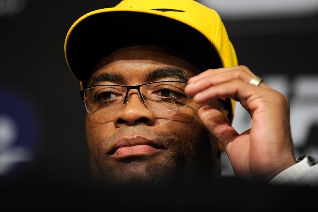 Anderson Silva Focused on Return to Octagon, Not Nick Diaz or Titles