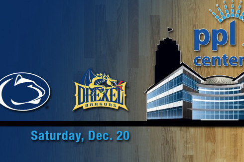 Penn State and Drexel Begin Two-Year Series at PPL Center Dec. 20
