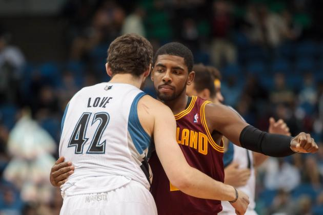 Kyrie Irving Says Cavs Could Use a Guy Who Sounds Exactly Like Kevin Love