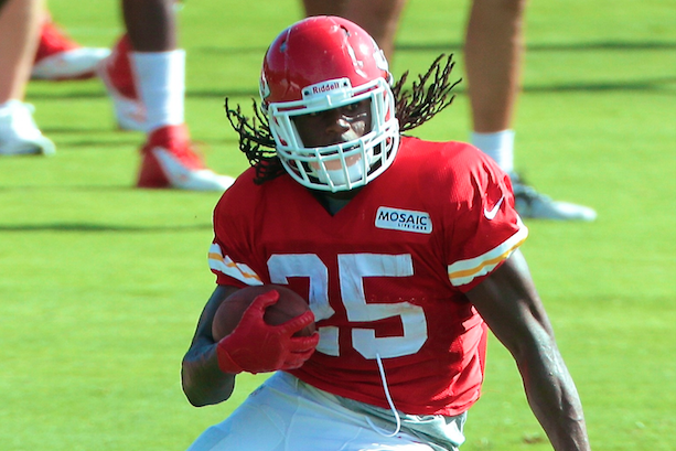 Jamaal Charles Jukes Teammate into Ankle Surgery During Training Camp