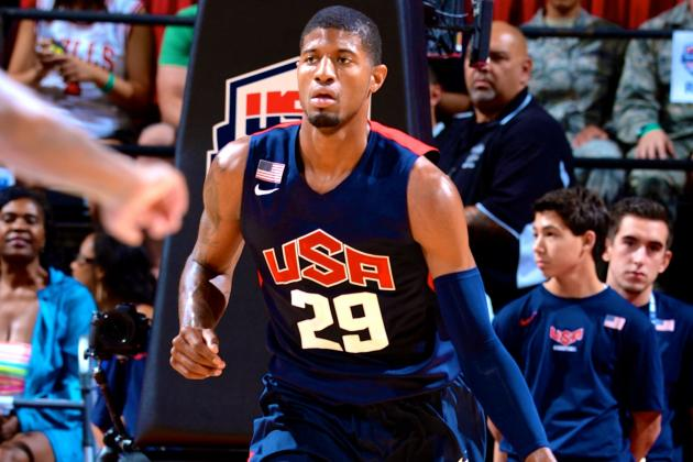 USA Basketball Showcase 2014: Live Highlights, Reaction for Blue vs. White Game