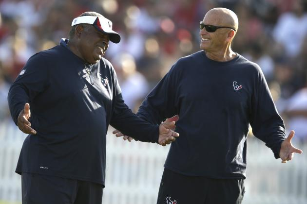 Crennel's Revamped Texans Defense Rounding into Form