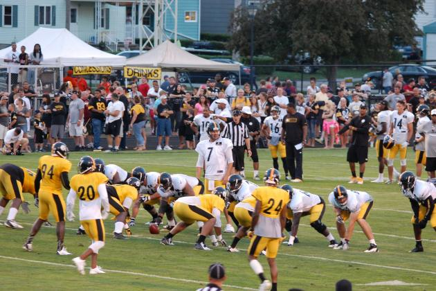 Pittsburgh Steelers Training Camp: Observations from Friday Night's Practice