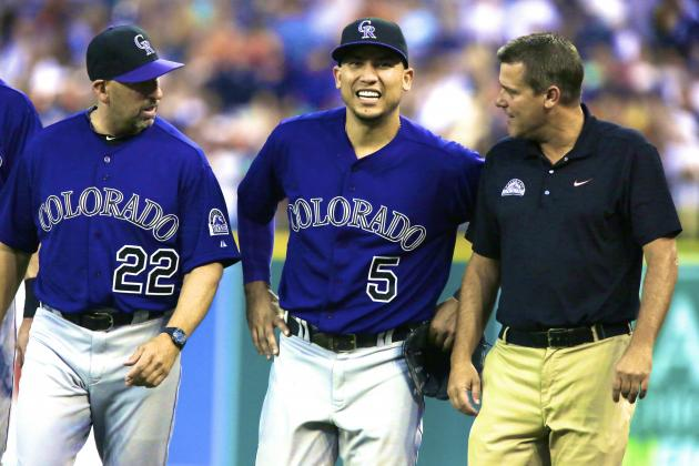 Carlos Gonzalez Injury: Updates on Rockies Star's Ankle and Return