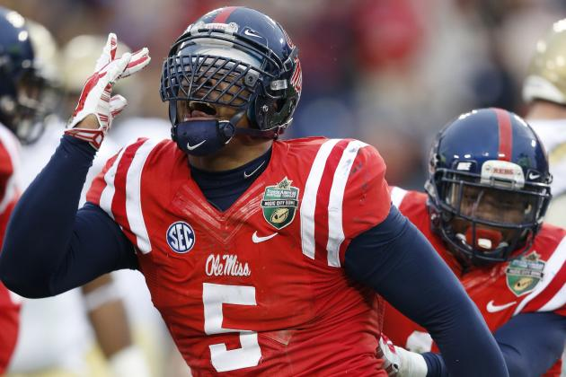 Nkemdiche Knows He Must Work Hard to Live Up to the Hype