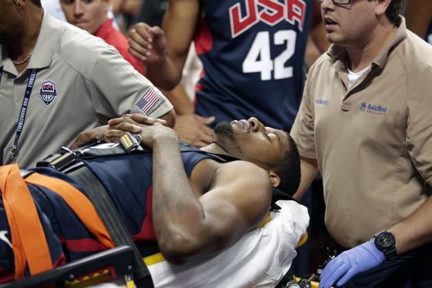 Paul George Injury Update: Pacers Star Undergoes Surgery on Broken Leg