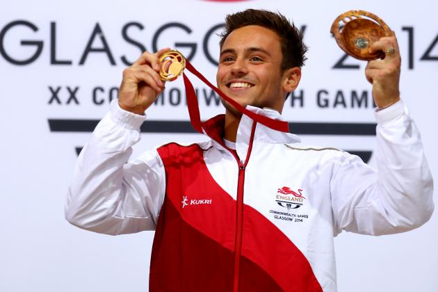 Tom Daley Wins Gold Medal in Commonwealth Games Men's 10m Platform Final