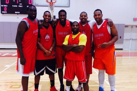 Photos: Jared Sullinger, Evan Turner, Alums Scrimmaged Current Buckeyes