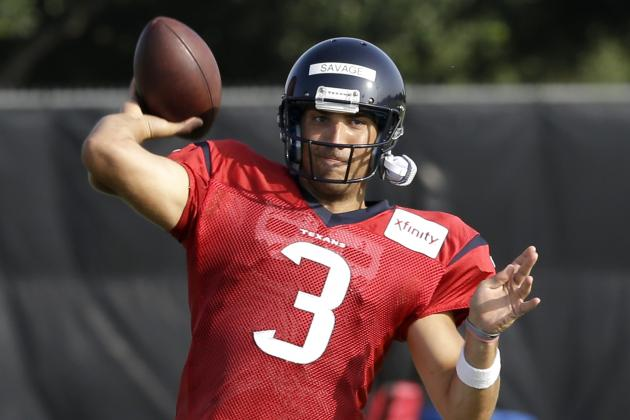 Texans Camp Report: Day 8