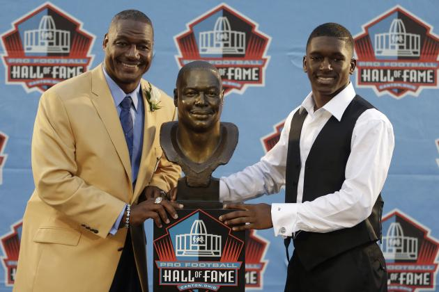 "Derrick Brooks Vows to Make Hall of Fame ""a Better Team"""