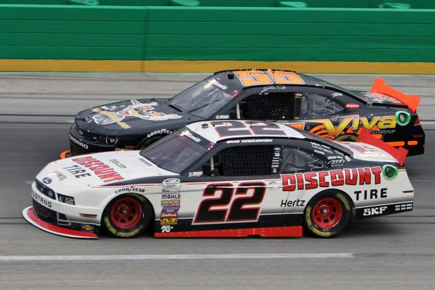 NASCAR Nationwide Series at Iowa 2014: Live Leaderboard Updates