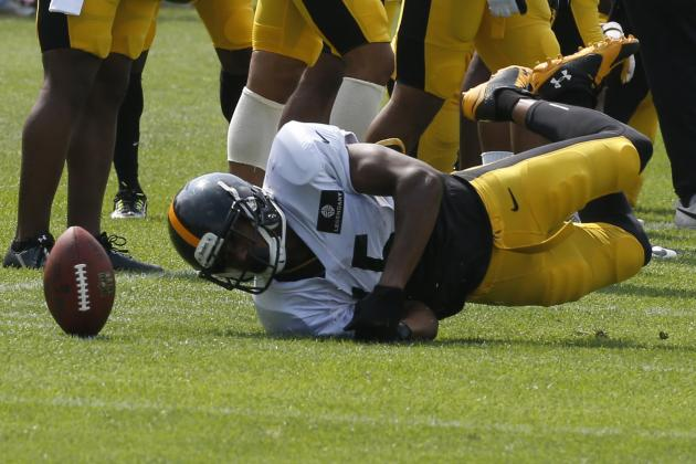 Steelers Notebook: WR Justin Brown Back After Broken Nose