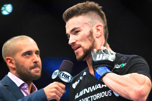 Brandon Thatch Suffers Broken Toe, Pulled from UFC Fight with Jordan Mein