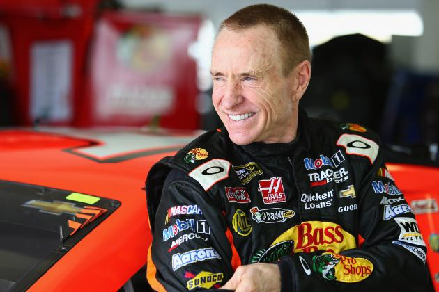 Mark Martin Speaks on Return to Roush Fenway Racing as Developmental Coach