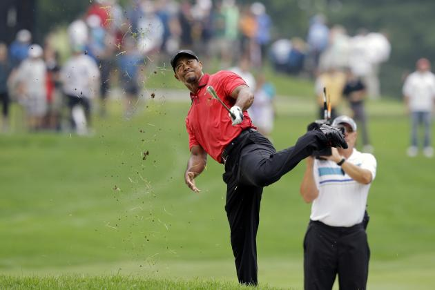 Twitter Reacts as Tiger Woods Exits 2014 Bridgestone Invitational Due to Injury