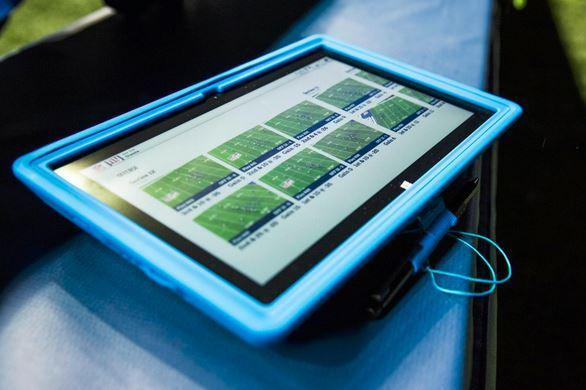 Bills vs. Giants to Feature First Use of Tablets on Sidelines of NFL Game