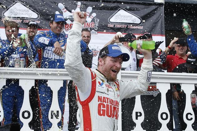 Dale Earnhardt Jr's Outlook for Remainder of 2014 NASCAR Season After Pocono Win