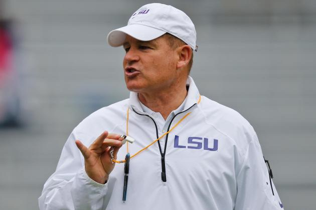 LSU Football: Biggest Takeaways from Les Miles' Opening Fall Presser