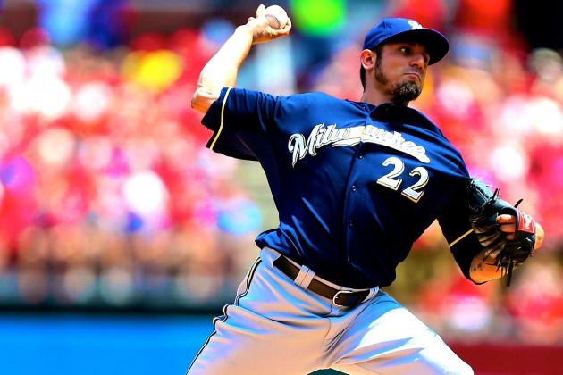 Matt Garza Injury: Updates on Brewers Star's Oblique and Return
