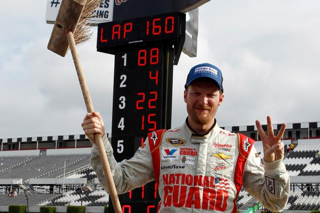 Dale Jr.'s Win Caps Season Sweep at Pocono