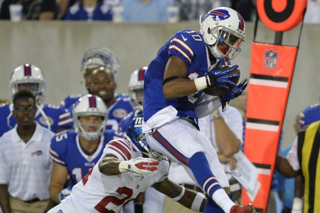 Robert Woods: Instant Fantasy Reaction from Bills vs. Giants in Preseason